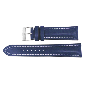 But Its Free - Breitling 22mm Blue Leather Strap 105X