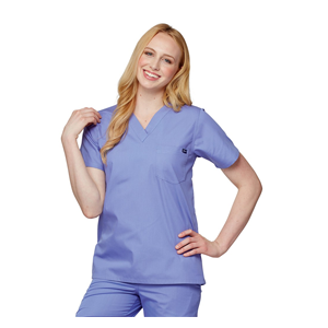 Tafford Essentials Unisex Chest Pocket Scrub Top