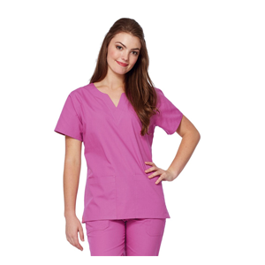 Tafford Essentials Sweetheart Neck Scrub Top