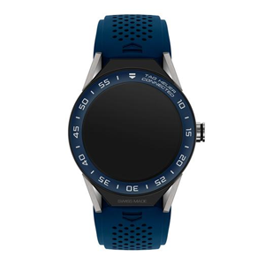 TAG Heuer Connected Modular 45 Watch - Blue Rubber Strap