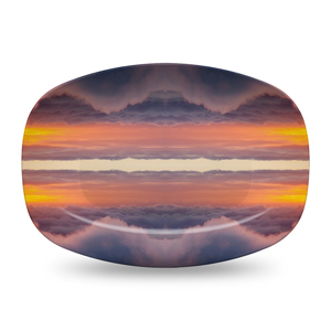 Atmosphere Serving Platter by elise flashman