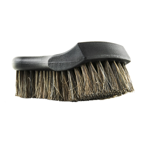 But Its Free - CHEMICAL GUYS ACCS96 - PREMIUM SELECT HORSE HAIR INTERIOR CLEANING BRUSH FOR LEATHER, VINYL, FABRIC, AND MORE