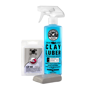 But Its Free - CHEMICAL GUYS CLY_KIT_2 - CLAY BAR & LUBER SYNTHETIC LUBRICANT KIT, MEDIUM DUTY