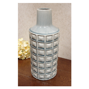 But Its Free - DLusso Designs Thirteen Inch Pastel Weave Vase C4204