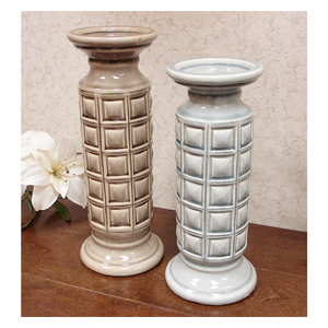 But Its Free - DLusso Designs Two Candle Holder Set C4205