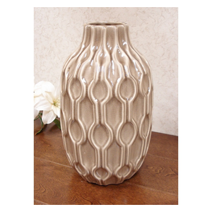 But Its Free - DLusso Designs Thirteen Inch Pastel Deco Vase C4206