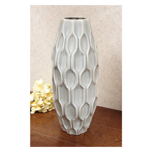 But Its Free - DLusso Designs Sixteen Inch Pastel Deco Vase C4207