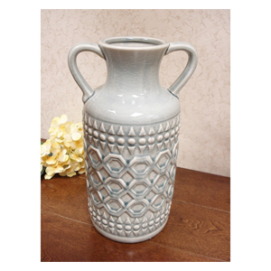 But Its Free - DLusso Designs Thirteen Inch Pastel Handle Vase C4208