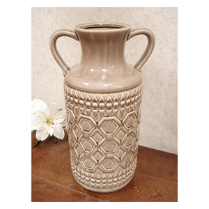 But Its Free - DLusso Designs Fifteen Inch Pastel Handle Vase C4209