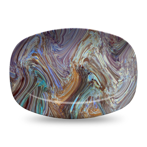 But Its Free - Opal Serving Platter by elise flashman