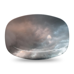 But Its Free - Tempest Serving Platter by elise flashman