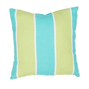 But Its Free - Veranda Pillow in Ceramic & Green Glow design by Jaipur