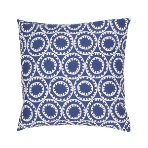 But Its Free - Veranda Pillow in Twilight Blue & Cloud Dancer design by Jaipur