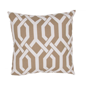 But Its Free - Veranda Pillow in Kelp & Cloud Dancer design by Jaipur